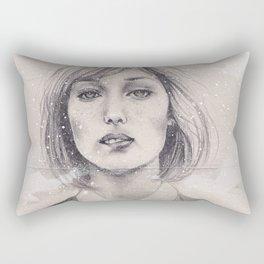 Snowfall Rectangular Pillow
