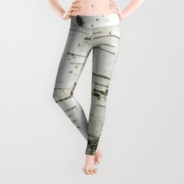 Birch bark pattern Leggings