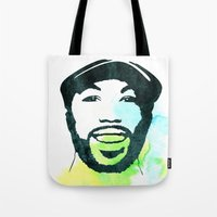 randy c Tote Bags featuring C' by bpmm