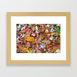 Feuille  Framed Art Print