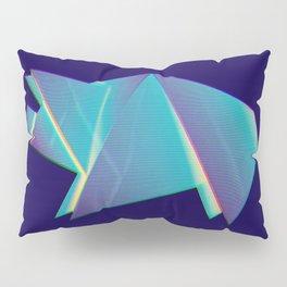 Neon origami pig Pillow Sham