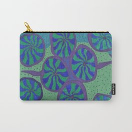 Blue Ocean Groove Carry-All Pouch