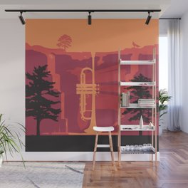 Music Mountains No. 3 Wall Mural