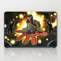 outer space iPad Cases featuring Outer Space by ZE-DESIGN