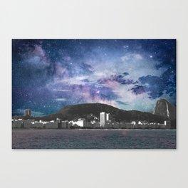 Copacabana under the Stars Canvas Print