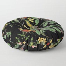 Hummingbirds Tropical Paradise Floor Pillow