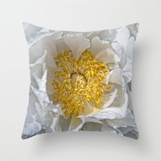 paeonia Throw Pillow