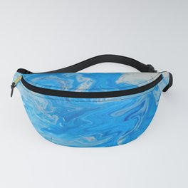 Fluid Blue 1 Fanny Pack