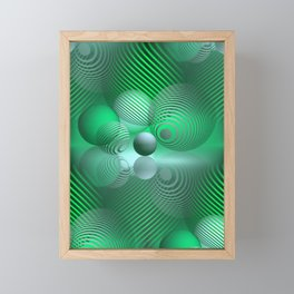 games with geometry -20- Framed Mini Art Print