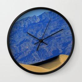 Death Valley Dunes Wall Clock