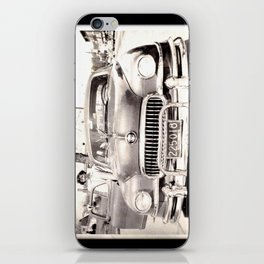 Mom and her Antique Car  iPhone Skin