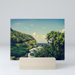 Honomanu Highway to Heaven Road to Hana Maui Hawaii Mini Art Print