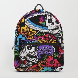 Skull with hat Backpack