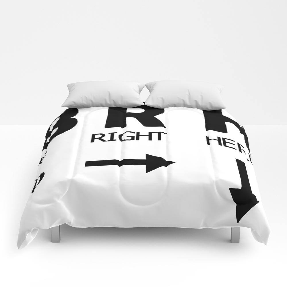 Be Right Here Comforter by Jrtart CMF8421078