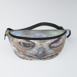 Owl Wink Fanny Pack