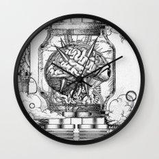 Mother Brain Super Metroid Engraving Scene Wall Clock