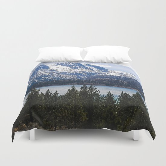 June Lake Duvet Cover