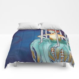 Chasing Twisters Comforters
