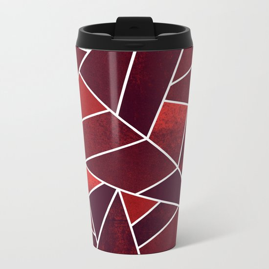 Cozy Christmas Metal Travel Mug