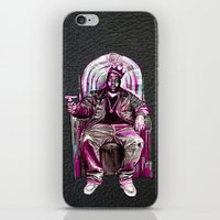 notorious big iPhone & iPod Skins featuring Notorious Big *King* by Gold Blood