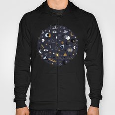 Galaxy ( gold and silver sky)  Hoody