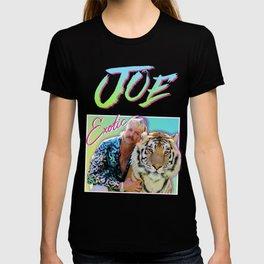 Tiger King Joe Exotic 80s style T-shirt