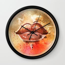 Neural Lolita Wall Clock