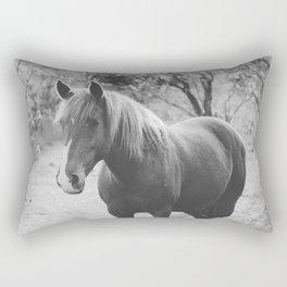 Horse III _ Photography Rectangular Pillow