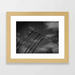 Ode to Nepal. Framed Art Print