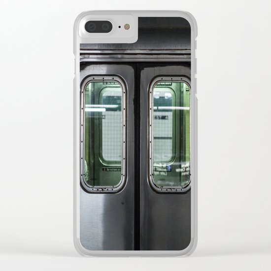 New York City Subway Clear iPhone Case