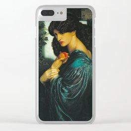 Dante Gabriel Rossetti  -  Proserpine Clear iPhone Case