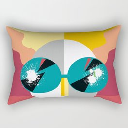 Big Shades Rectangular Pillow