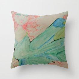 Shaped Ribbons Throw Pillow