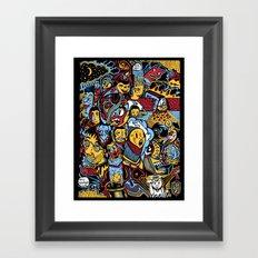 Doodle50 Framed Art Print