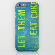 Let Them Eat Cake iPhone 6s Slim Case