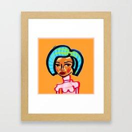 Courtney Framed Art Print