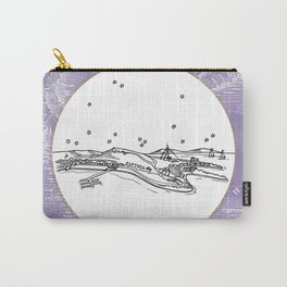 Pattaya City, Thailand City Skyline Illustration Drawing Carry-All Pouch