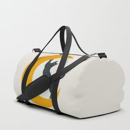 Moon and Cat Duffle Bag