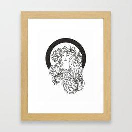 Mucha's Inspiration Framed Art Print