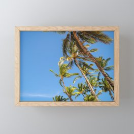 Hawaii Palm Trees Framed Mini Art Print