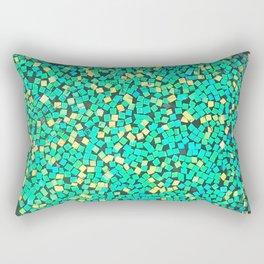 Graphic Green Rectangular Pillow