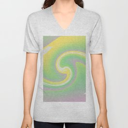 Joyful Swirl Unisex V-Neck