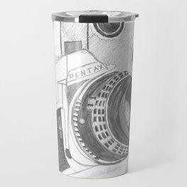 Pentax Illustrated Travel Mug