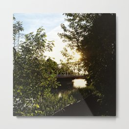 The Footbridge Metal Print