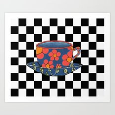 Cup And Saucer Art Print