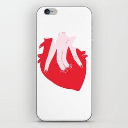 ponme la mano aquí iPhone Skin