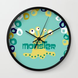 Lil' Monsters Wall Clock
