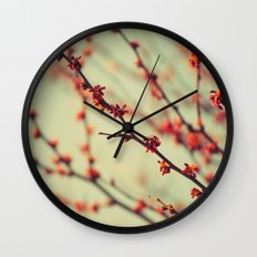 When spring was autumn... Wall Clock