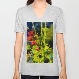 """""""A Friend Told Me I Was Delusional, I Almost Fell Off My Dragon!"""" Unisex V-Neck"""
