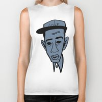 tyler the creator Biker Tanks featuring Tyler, The Creator by Nobody People